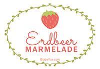 Etiketten Marmelade Erdbeer by Gratis Marmeladen Etiketten Als Word Vorlage Zum Download