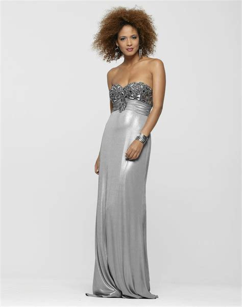 liquid beaded evening gowns 62 best images about silver dresses on