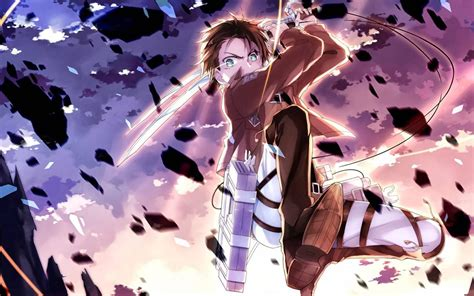 eren yeager attack  titan wallpapers hd