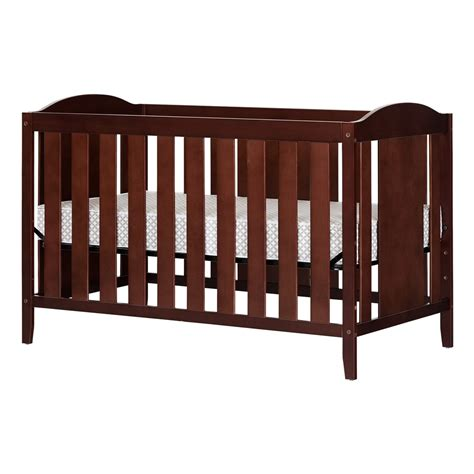 Toddler Bed With Crib Mattress South Shore Royal Cherry Crib Toddler S Bed With Mattress
