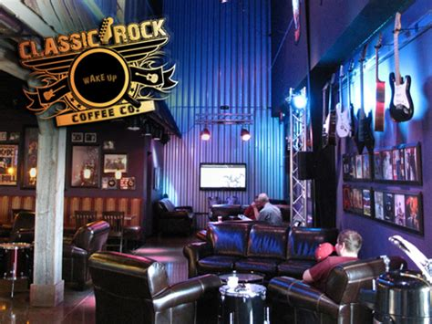 Franchise Coffee Shop classic rock coffee shop franchise