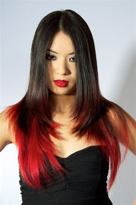 best hair highlight trends this year hottest red ombre hair color ideas best hair color
