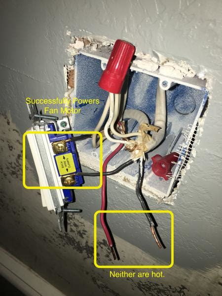 dual switch ceiling fan wiring confusion doityourself