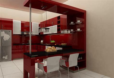 kitchen set furniture minimalis murah profesional 0896