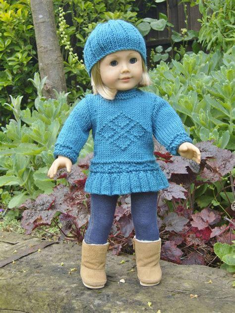 Set Knit 13 american doll diamonds are forever set pdf knitting pattern no 13 4 00 via etsy