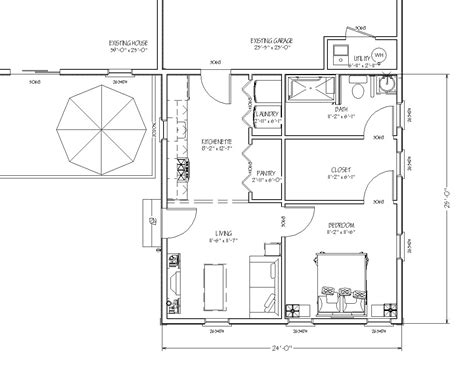 house plans with inlaw apartment in additions 600 sq ft plans studio