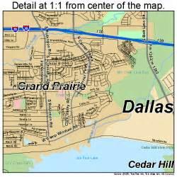 map of grand prairie grand prairie map 4830464