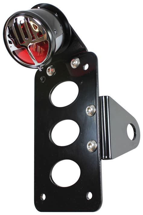 Side Mount License Plate Bracket With Light by Tc Bros Stop Side Mount Light License Plate