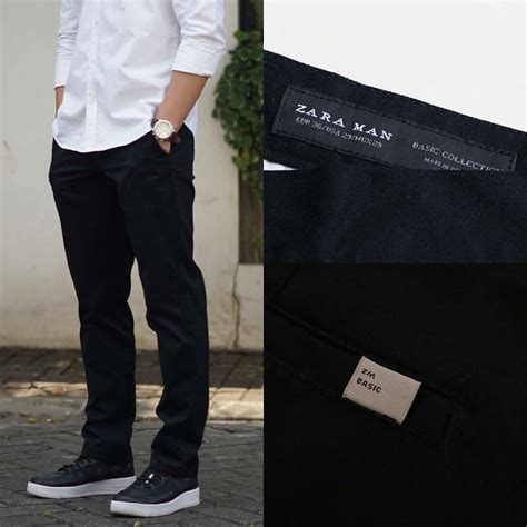 Celana Zara Original jual celana panjang zara seri s casual basic trousers regular fit original baru celana