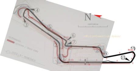 layout sirkuit sentul master plan motogp indonesia 2017 sentul dirombak