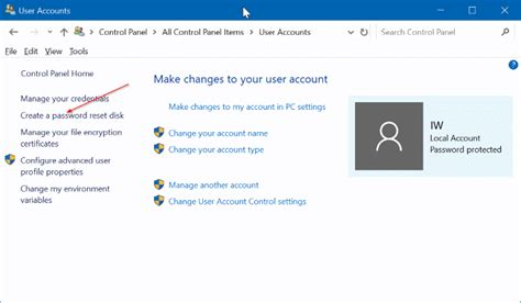 windows reset password usb free how to create windows 10 password reset disk on usb drive
