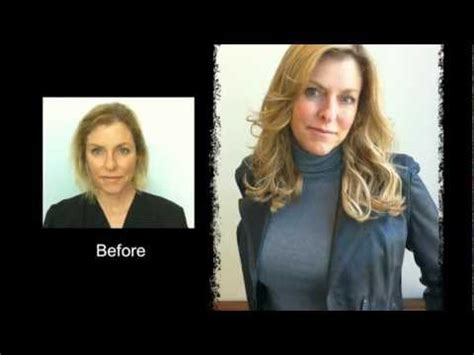 short hair extensions for thinning hair hair extensions for short fine thin hair before and