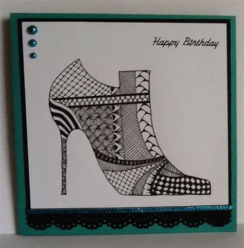 zentangle pattern cards 1000 images about cards birthday zentangle doodle on