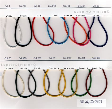 White Elastic Cord Tali Karet Elastis 2mm elastic page all elastic types from uk sewing services