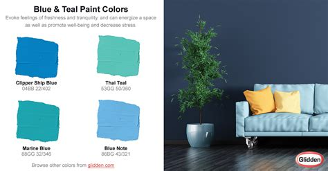 blue teal paint colors