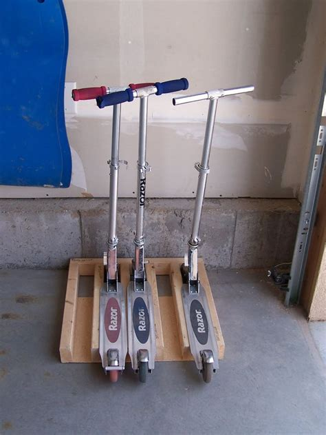 Razor Scooter Storage Rack by Scooter Rack Home Design Garage