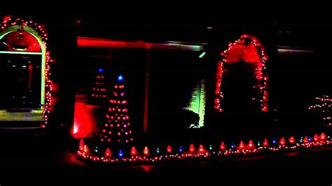 my christmas lights in macon ga 2010 youtube