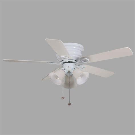 44 in clarkston ceiling fan hton bay clarkston 44 in white ceiling fan cf544h peh