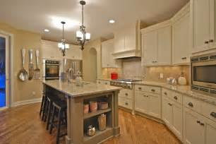 Kitchens With Antique White Cabinets by Antique White Cabinets Kitchen Traditional With Door