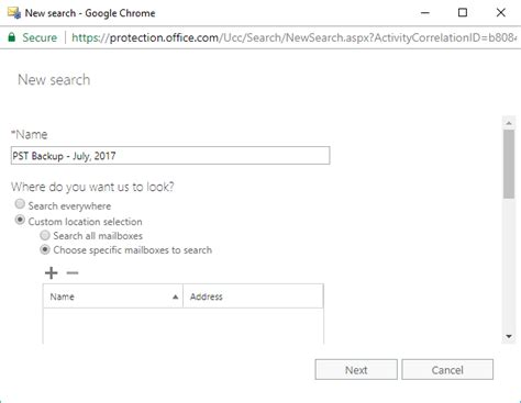 Office Exchange by Office 365 Export Mailboxes To Pst Using Ediscovery