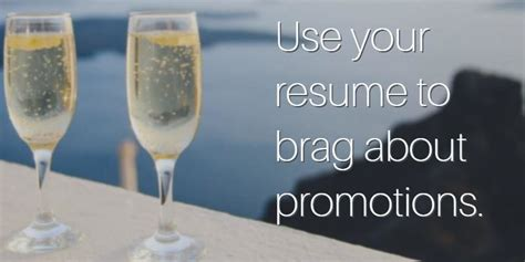 How To Put Promotion On Resume