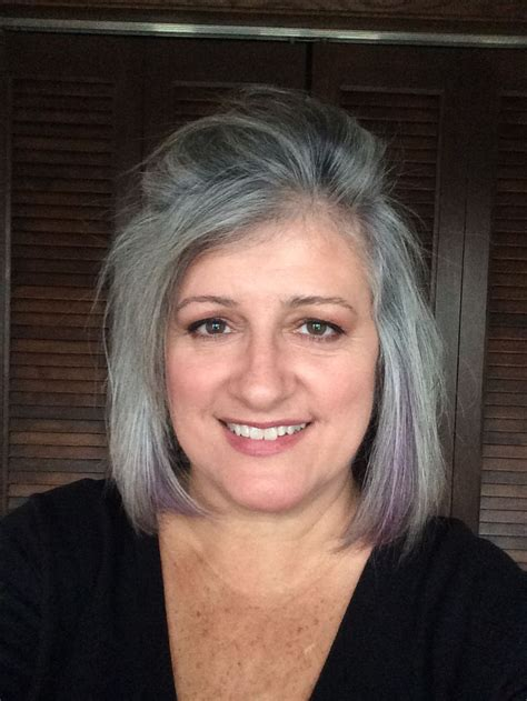 salt and pepper hair with lilac tips best 25 lilac grey hair ideas on pinterest lavender