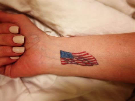 small american flag tattoo 40 best small patriotic tattoos images on