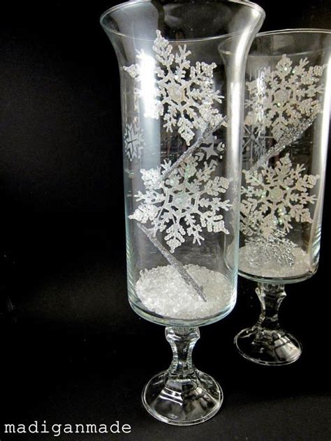 furniture vases for centerpieces ideas winter best 25 snowflake centerpieces ideas on pinterest