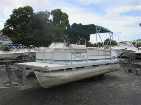 boat trader florida pontoon boats 1995 pontoon boat boats for sale