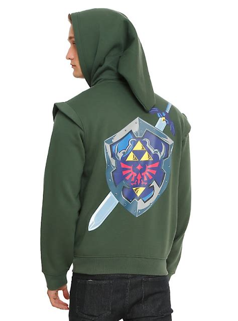 Sweater The Legend Of Breath Of The Hoodie the legend of link hoodie topic