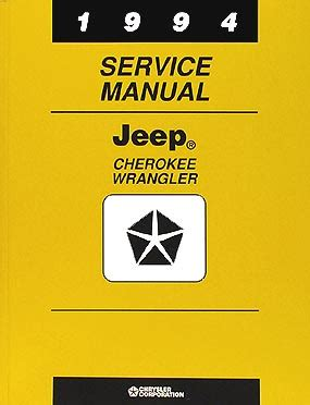hayes auto repair manual 1994 jeep cherokee auto manual 1994 jeep cherokee wrangler repair shop manual original