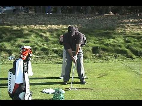 tiger woods iron swing face on 3 10 2002 tiger woods 1 iron swing face on youtube