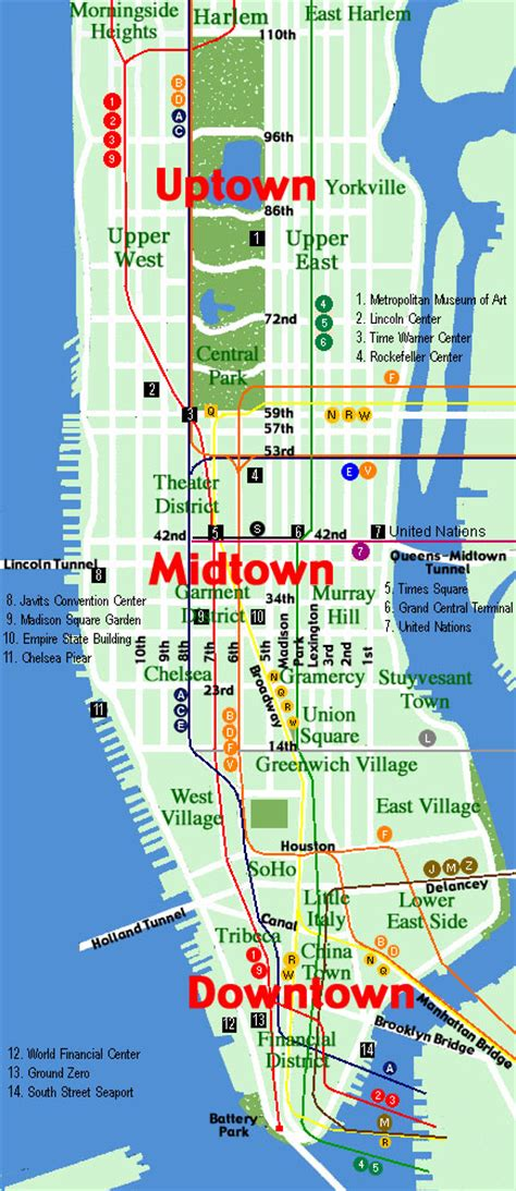 map manhattan streets map of manhattan city pictures your description
