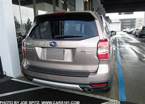 subaru forester rear bumper protector 2016 subaru forester options and upgrades page