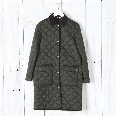 Barbour Quilted Coat by Barbour Quilted Border Coat Collen Clare