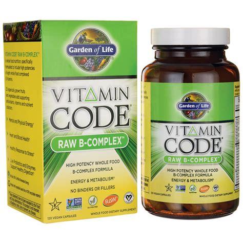 Garden Of Vitamin B Complex Garden Of Vitamin Code B Complex 120 Vegan Caps