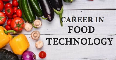 Mba In Food Science And Technology In India by Food Technology Processing Prospect Food