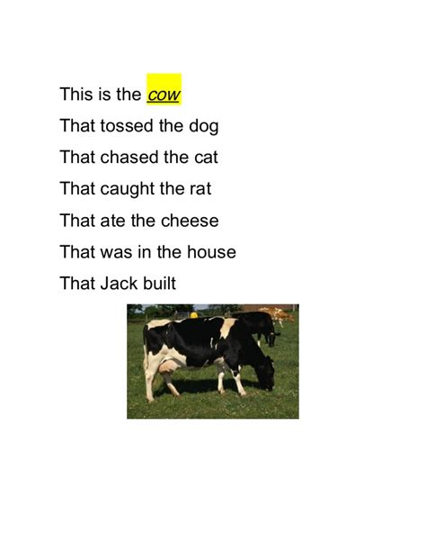 who tossed the dog in the house that jack built the house that jack built