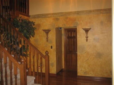 tuscan yellow paint color wash