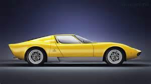 Lamborghini Muira Sv Lamborghini Miura Sv 1971