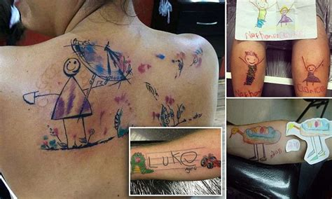 sydney tattoo expo promo code australian parents tattoo their kids drawings on their