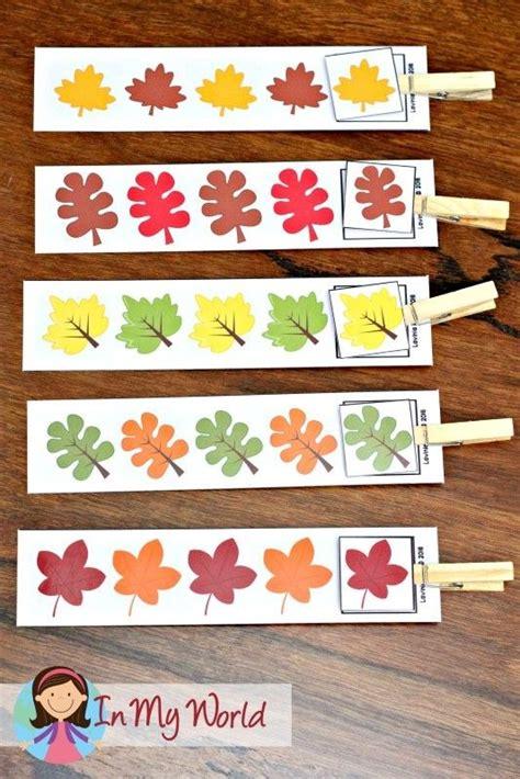 pattern center ideas for kindergarten 332 best fall preschool ideas images on pinterest day