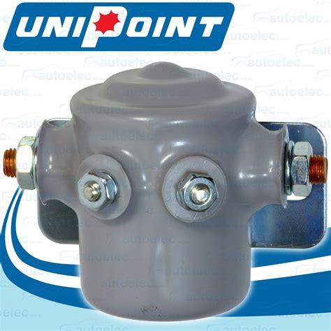 marine continuous duty universal solenoid relay switch