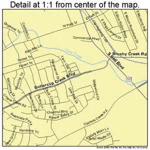 Cedar Park Tx Cedar Park Map 4813552