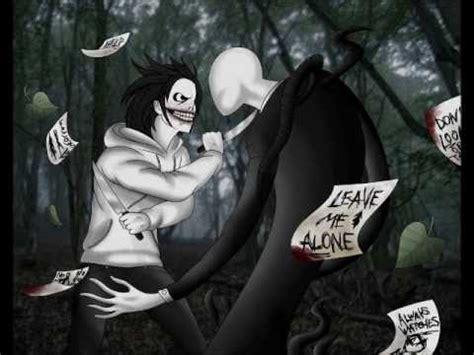 imagenes reales de jeff the killer vs slenderman jeff and slenderman fan arts youtube