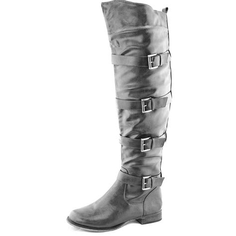 Thigh And Knee Rips Ankle Zip Grey Code Fzn3534 222 best knee high boots at dailyshoes images on