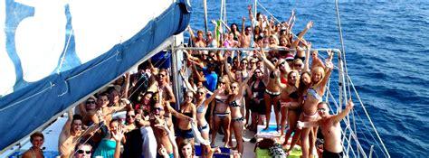 catamaran boat party lloret de mar catamaran costa brava blanes lloret tossa sant feliu