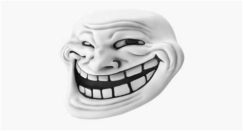 3d Troll 3d trollface model