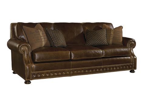 learher couch kingstown devon leather sofa lexington home brands