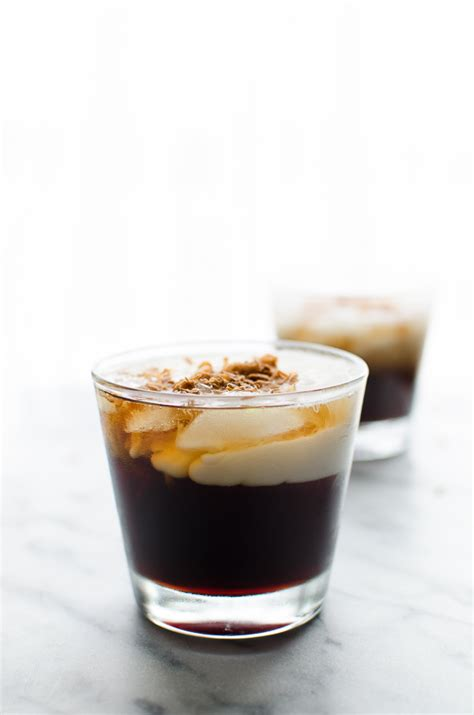 white russian cocktail toasted coconut white russian taste love and nourish